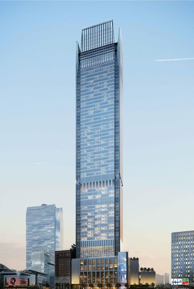 طراحی سومین آسمان خراش بلند لس آنجلیس